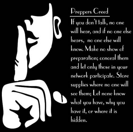 Preppers-Creed