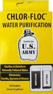 Global Warming or Nuclear War Water Filtration Reserves Purification Survival Dirty Nuclear War Chlor Floc Chlorine Tablets